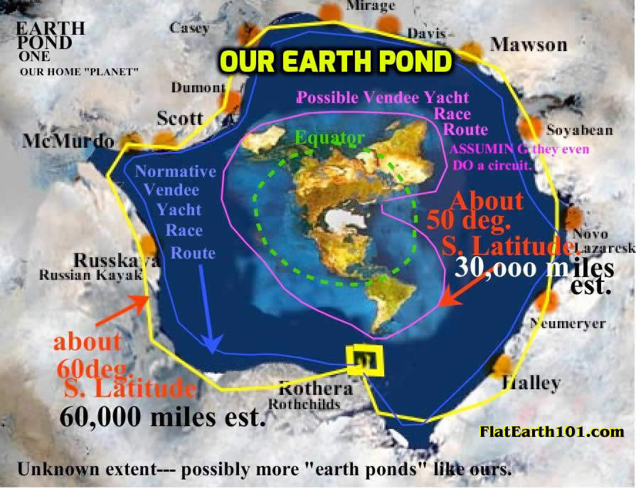 Flat Earth Maps